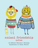 Animal Friendship Notes : 20 Different Notecards & Envelopes