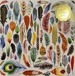 Feathers Foil Puzzle : 500 Piece