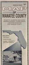 Manatee County Folding Map