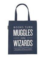 Tote - Books Turn Muggles