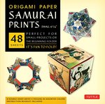 Origami Paper Samurai Prints