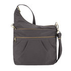 Travelon - Anti-Theft Signature 3-Compartment Crossbody-Midnight