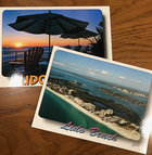 5 x 7 Scenic Florida Post Card