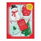 Holiday Cookies Shaped Portfolio Notecards