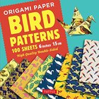 Origami Paper - Bird Patterns - 6 Inch 15 Cm : Tuttle Origami Paper: High-quality Origami Sheets Printed With 8 Different Designs: Instructions for 8 Projects I