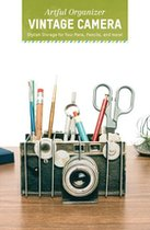 Artful Organizer - Vintage Camera : Stylish Storage for Your Pens, Pencils, and More!