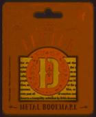 Bookmark - Letter D