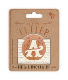 Bookmark - Letter A