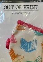 Books Face Mask Medium/Large